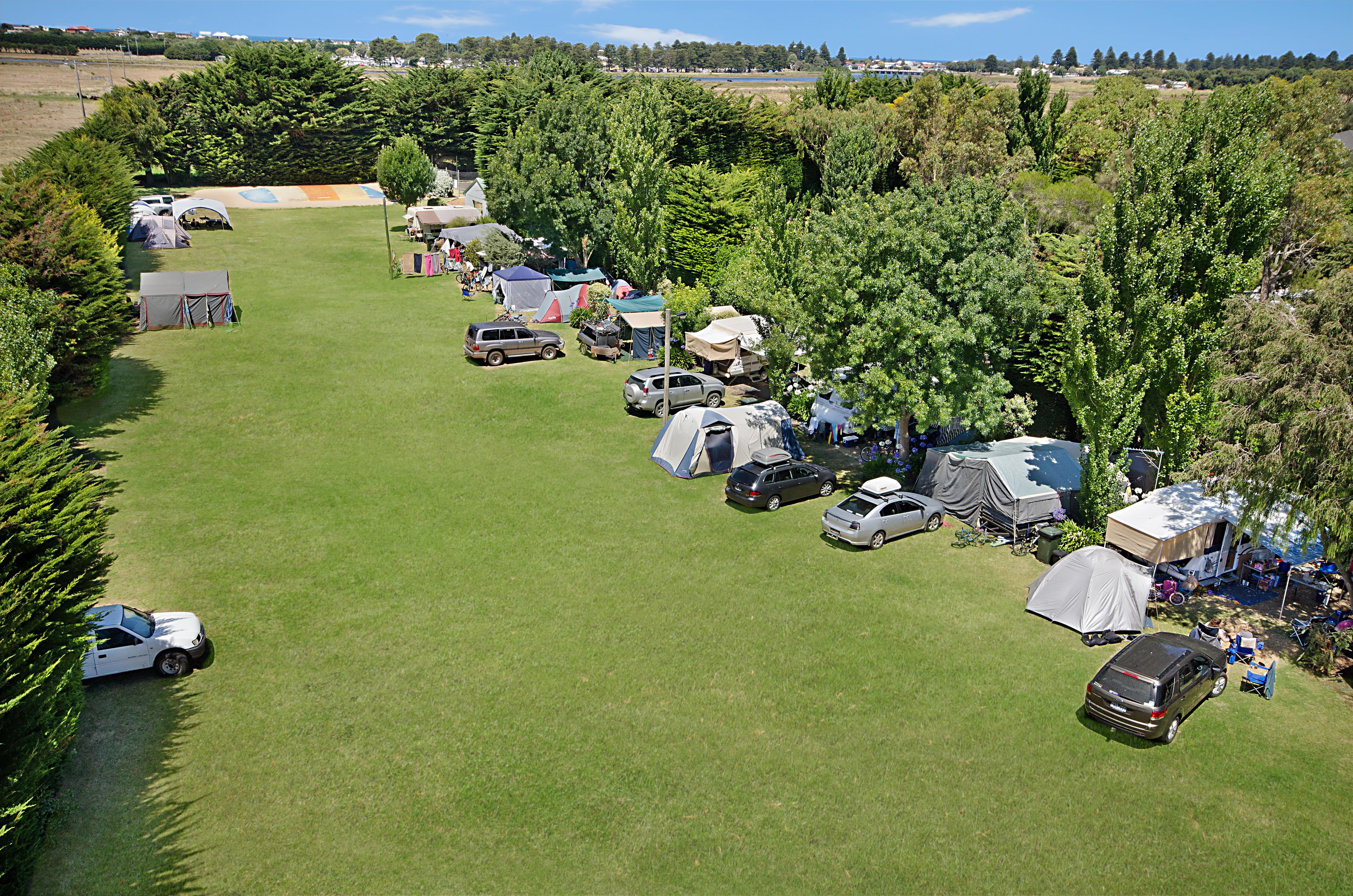 Free camping port fairy